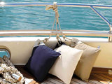 Waterafstotende nautische sierkussens