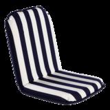 Comfort Seat Regular Blauw met witte streep
