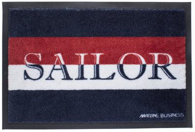 Marine Business Welcome deurmat Sailor