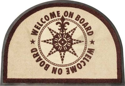 Marine Business Welcome Deurmat On Board