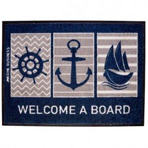 Marine Business Welcome Deurmat Boat